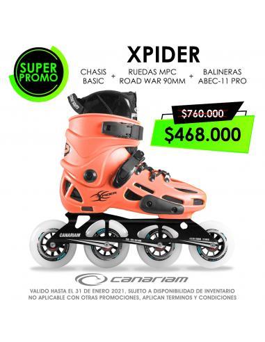 Xpider Basic 4x90 Xroll + Grip