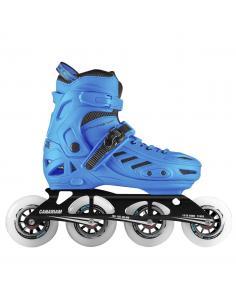 Casco para patinaje B3-23 Blanco X Fucsia