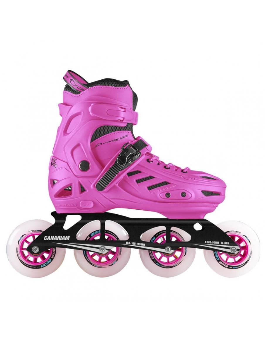 Casco para patinaje B3-23 Blanco X Rojo