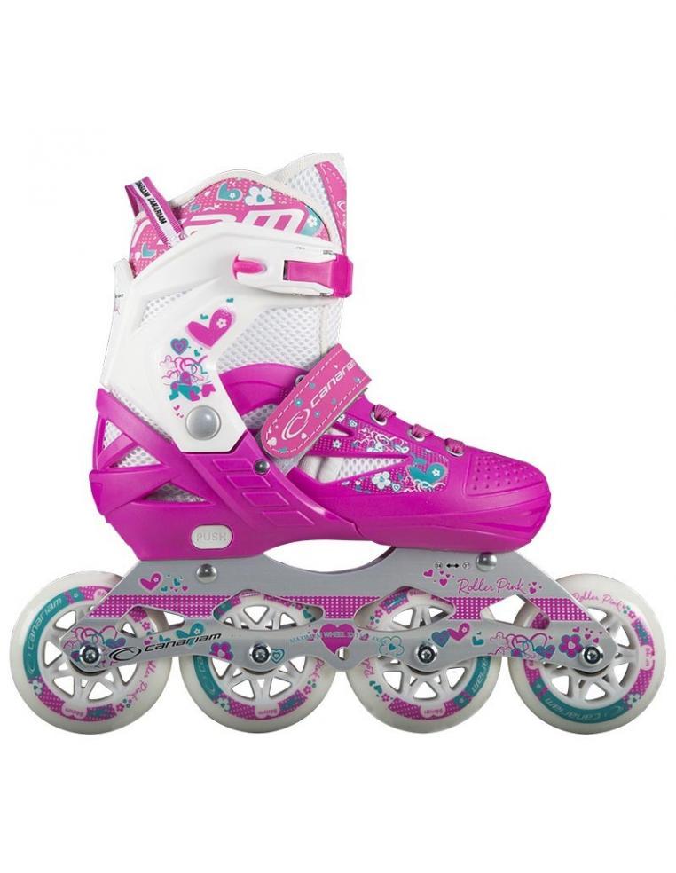 Patin Roller Pink Princess